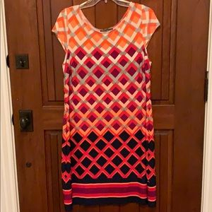 Easy2wear Jessica Howard cap sleeve A-line dress